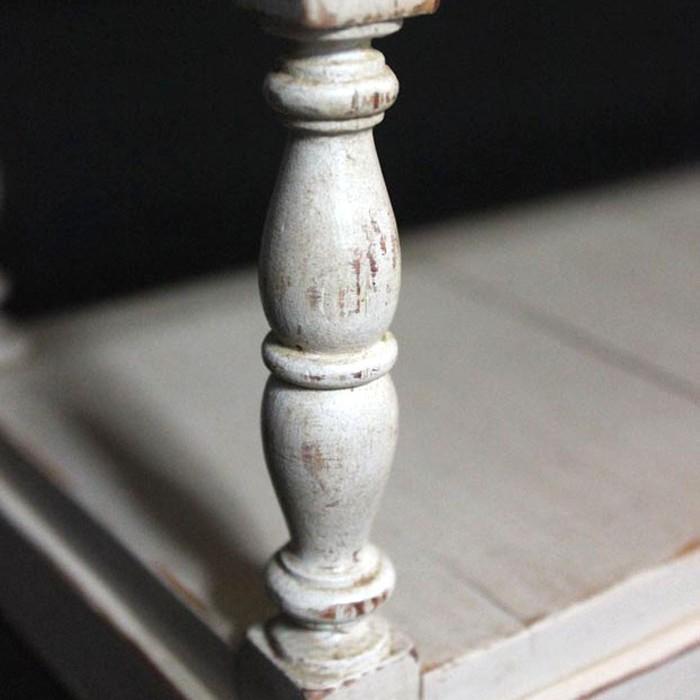 bois tourné meuble drapière en bois massif - mobilier contemporain ébéniste France