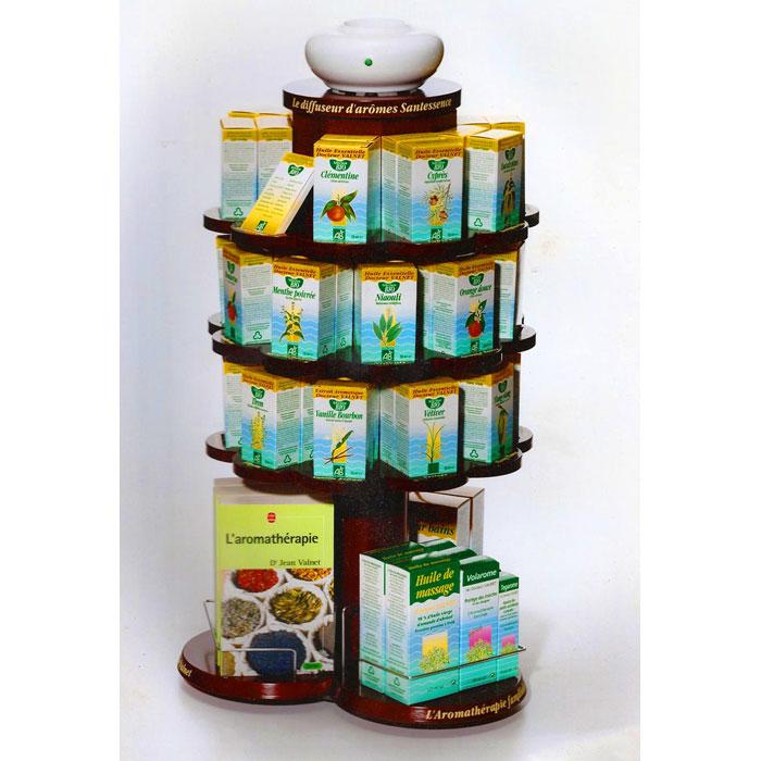 agencement et tag res pour cosbionat l 39 aromath rapie familiale du dr valnet conception et. Black Bedroom Furniture Sets. Home Design Ideas