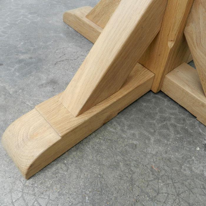 achat vente table haute bistrot en bois massif