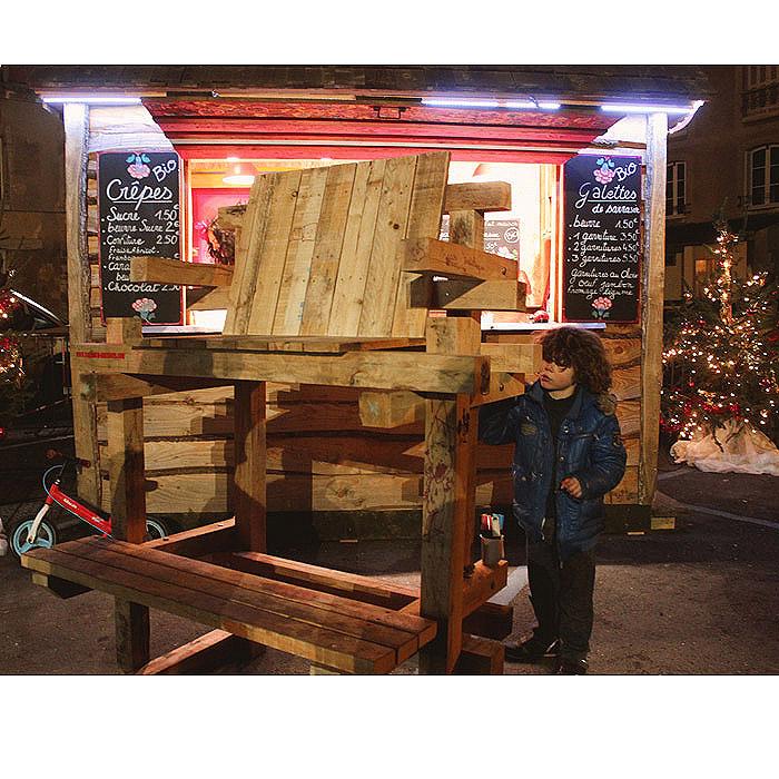 chaise haute bois exterieur