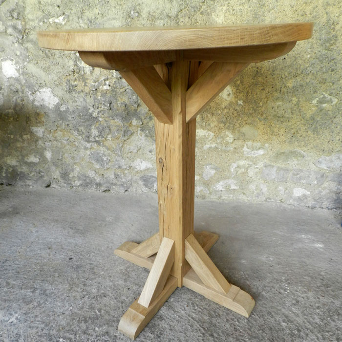 achat vente de table bistrot en bois massif