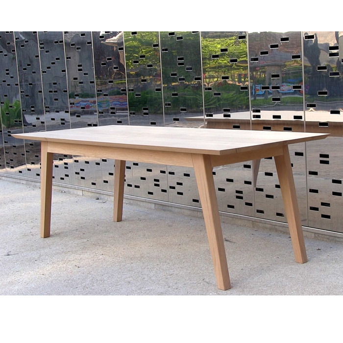 table longue chêne massif