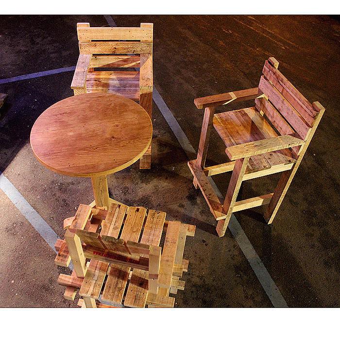 salon haut exterieur bois